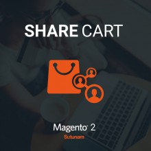 Share cart extension for Magento 2